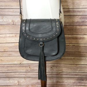 EU Franco Sarto dark gray Cross body/saddle bag